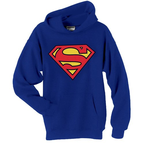 SUPERMAN SHIELD HOODIE DC COMICS (Large)