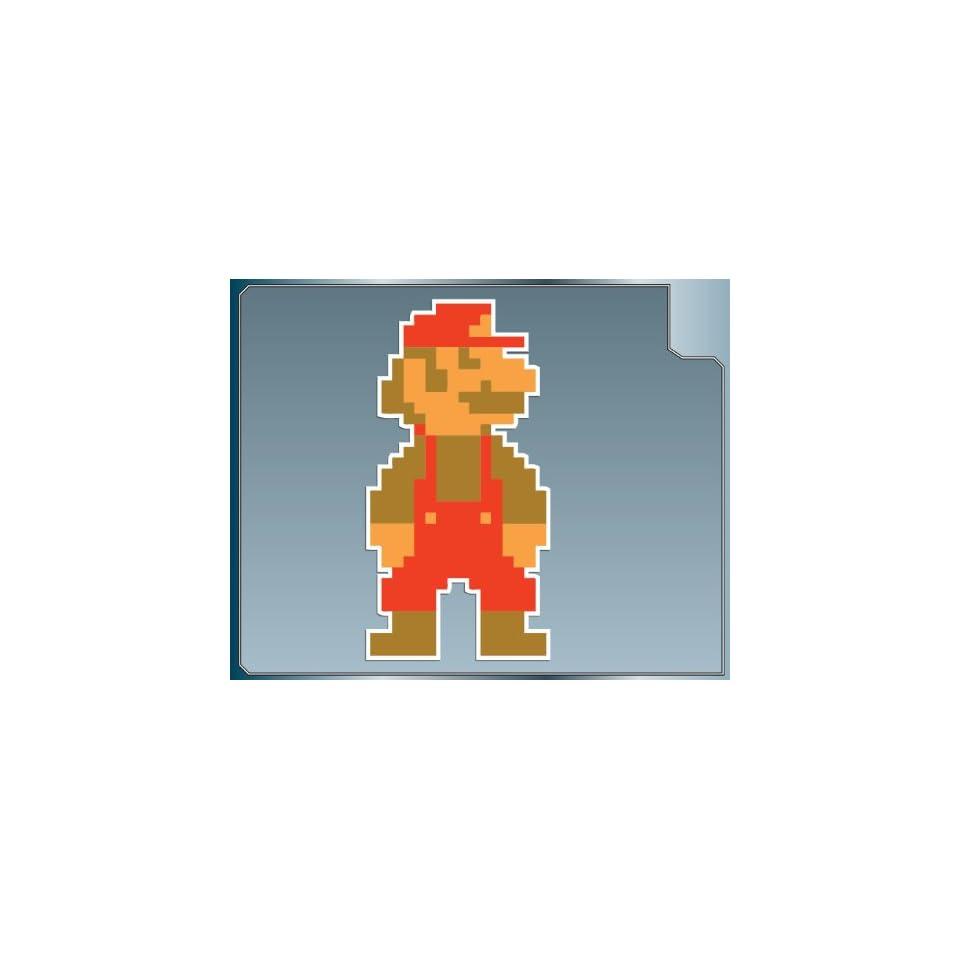 MARIO 8bit from Super Mario Bros. vinyl decal sticker