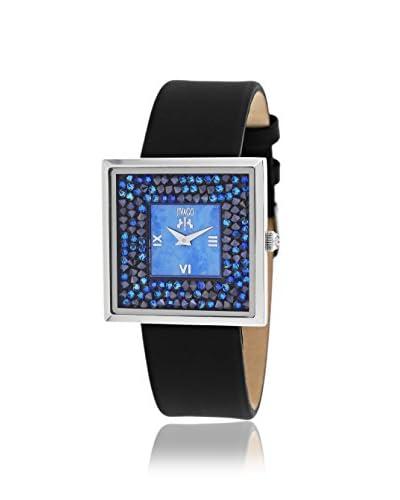 Jivago Women's JV7411 Brilliance-S Black/Blue Mother of Pearl Watch