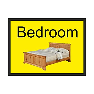 Bedroom Dementia sign Rigid Plastic 300mm x 200mm