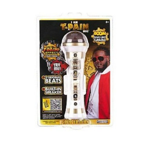T-Pain Microphone Gold Edition 2012