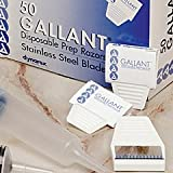 Dynarex Disposable Gallant Prep Razor, Individually Foil-Packed, 250/cs