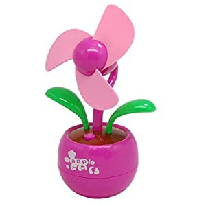Gino Flower Style Laptop PC Computer Desk USB Cooling Fan