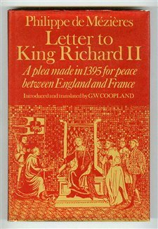 Letter to King Richard II, Philippe De Mezieres