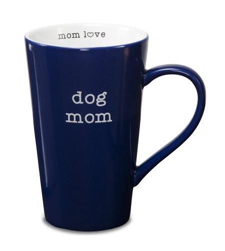 Pavilion Gift Company 14020 Stoneware Mug, Dog Mom front-494604
