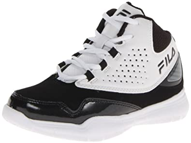 Buy Fila Rim Attacker Basketball Sneaker (Little Kid Big Kid) by Fila