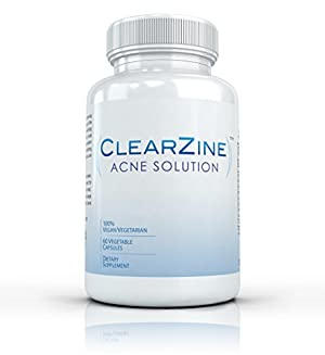 Clearzine Acne Solution, 60 capsules
