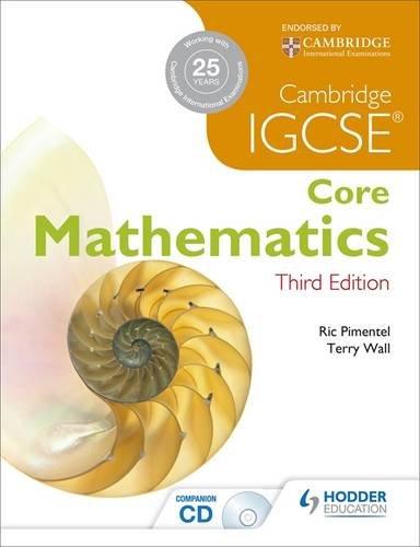 IGCSE Core Mathematics 3ed + CD