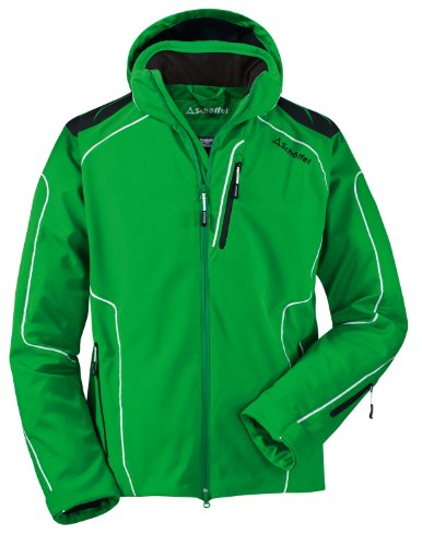 Sch&#246;ffel Herren Softshelljacke Palmer, fern green, 50