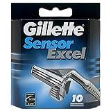 Gillette Sensor Excel, Refill Cartridges 10 ea