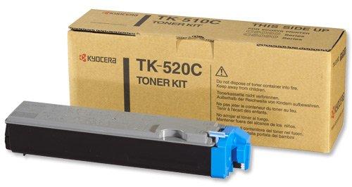 Kyocera Laser Toner Cartridge Page Life 6000pp Cyan Ref TK520C
