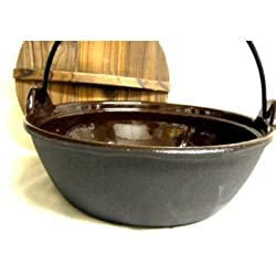 Japanese Iron Cooking Pot #506XG7524