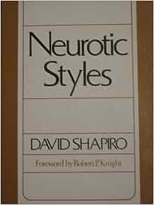 neurotic styles david shapiro pdf