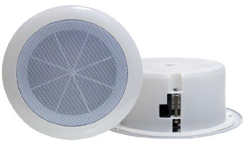 6.5'' Full Range In-Ceiling Flush Mount Enclosure Speaker System