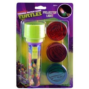 Teenage Mutant Ninja Turtles Large Projector Light with Three Interchangeable Lenses - 1