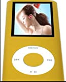 ELEGIANT 1.8 Inch LCD Screen Display Metal Clip FM Radio Video Mp3 Mp4 Player For 4/8/16GB Micro SD/TF Green