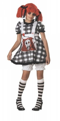 In Character Baby-Girls Tragedy Anne Gothic Rag Doll Costume Child/Tween Size