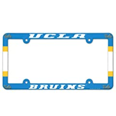 Buy NCAA UCLA Bruins 6x12 Plastic Full Color License Plate Frame by WinCraft