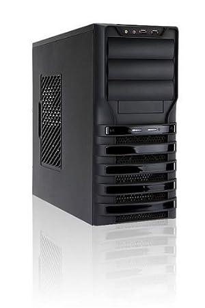 Inwin BW135 Boîtier PC de gaming Montage sans outils (Noir)