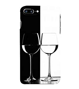 HiFi Designer Phone Back Case Cover Apple iPhone 7 Plus :: Apple iPhone 7+ ( Black And White Pattern Design )