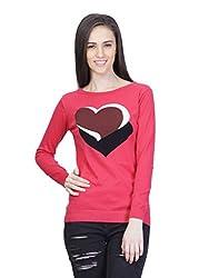 Kalt Women's Cotton Sweater (W127 M _Medium_Multicolour)