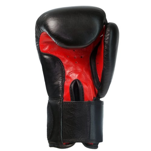 BENLEE Rocky Marciano Boxhandschuhe Training Gloves Rodney, Schwarz/Rot, 14, 194007 -