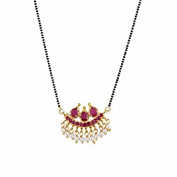 Archi Collection CZ Mangalsutra Set for Women