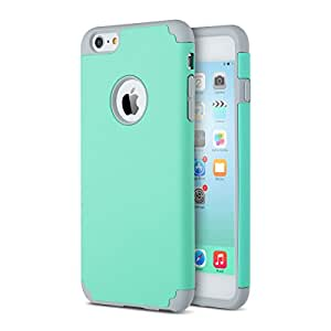 iPhone 6 Case, iPhone 6s Case - ULAK iPhone 6 Cover Slim Hybrid Dual Layer Shockproof Silicone Case Cover for Apple iPhone 6 4.7 inch/ iPhone 6s 4.7 inch