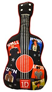 "1 D One Direction 24 "" Guitar Shaped Pillow Decorative Collectible Cushion"