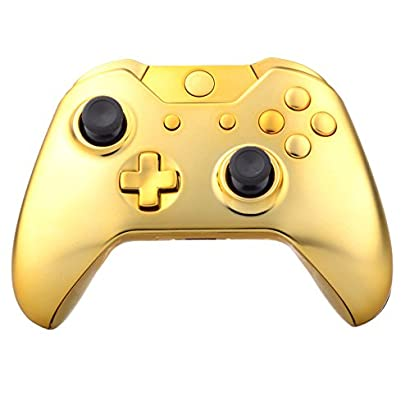 Extremerate Chrome Gold Full Housing Shell Case With Buttons
