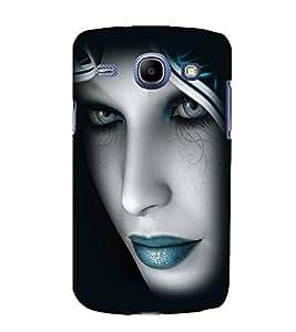 printtech Beautiful Girl Closeup Back Case Cover for Samsung Galaxy J1 / Samsung Galaxy J1 J100F