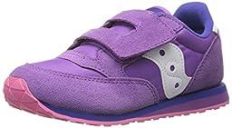 Saucony Girls Baby Jazz Hook and Loop Sneaker (Toddler/Little Kid), Purple/Pink, 9.5 M US Toddler