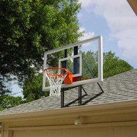 prices deals 3 on roof king platinum garage roofmount basketball hoop system with 60 inch backboard durable steel universal bracket and highquality