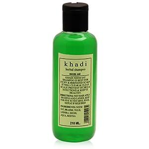 KHADI - Neem Sat Herbal Shampoo - 210ml