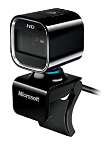 Microsoft LifeCam HD-6000 720p HD Webcam for Notebooks - Black