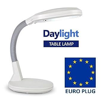 led daylight 8w adjustable reading desk light table lamp. Black Bedroom Furniture Sets. Home Design Ideas
