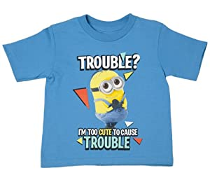 Despicable Me - Minion Too Cute for Trouble - Toddler T-Shirt