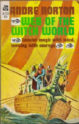 Image for Web of the Witch World (Vintage Ace SF, G-716)