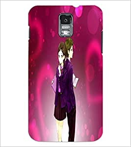 PrintDhaba Couple D-4003 Back Case Cover for SAMSUNG GALAXY S5 (Multi-Coloured)