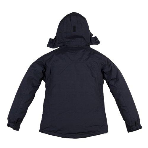COX SWAIN Damen 2-Lagen Outdoor Regenjacke Pure - 5.000mm Wassersäule, Farbe: Black, Größe: M -