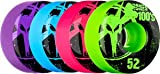 Bones Wheels 100's Assorted Colored Wheels (52 x 31mm)