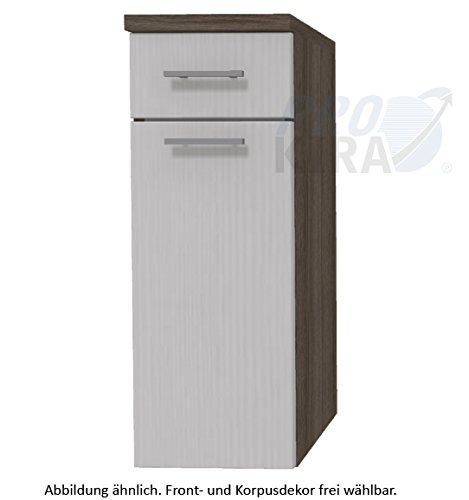 puris Kera Trends High board (hba55 3 a7 W) Mobili da bagno, 30 cm