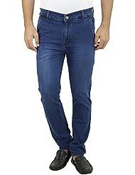 Mens Slim Fit Blue Denim Jeans For Men, Comfortable Denim Jeans For Men, Light Denim Jeans For Men