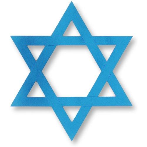 Beistle Company - Hanukkah Foil Star of David