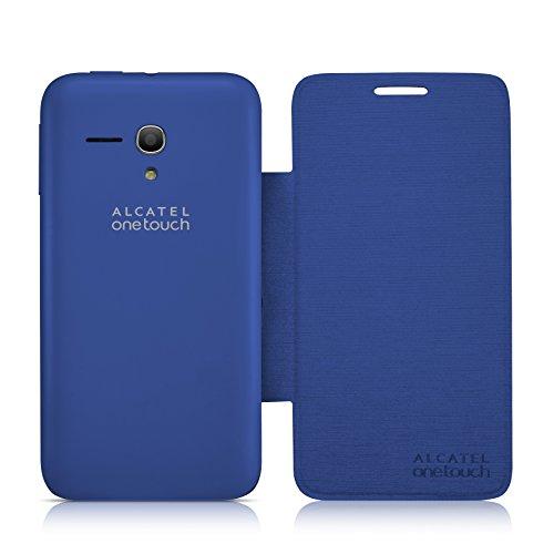 Alcatel Custodia Flip per One Touch Pop D5, Blu