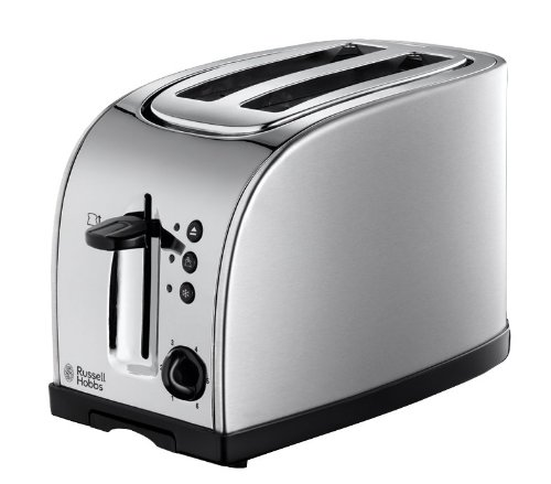 18096 2-slice Texas Toaster 18096 Silver 18096 By Russell Hobbs