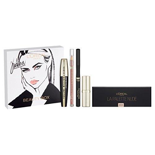 loreal-cosmetics-kristina-bazan-full-box-kit-contains-eyeshadow-palette-lipstick-and-lipliner-mascar