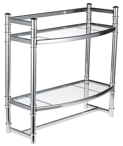 Zenith Studio Accents Wall Shelf, Chrome