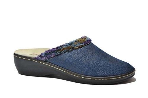 Cinzia Soft Ciabatte blu PLANTARE ESTRAIBILE scarpe donna NTH83 40