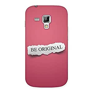 Special Be Orignal Multicolor Back Case Cover for Galaxy S Duos